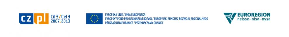 Projekt byl spolufinancován z prostředků ERDF prostřednictvím Euroregionu Nisa - Nysa.